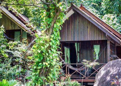 Bamboo Huts Bungalow Koh Phangan