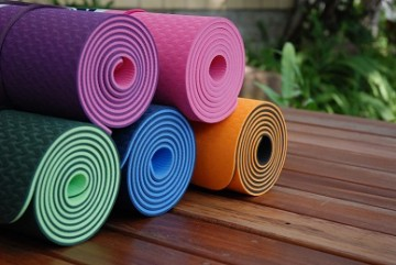 eco yoga mats at Pure Flow Yoga
