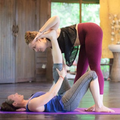 private yoga class at Pure Flow Yoga