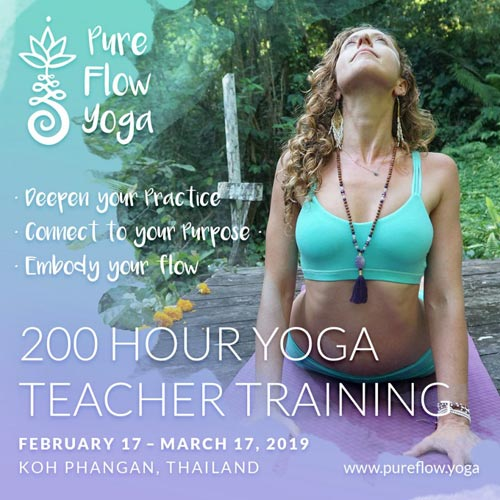 Pure Flow Yoga Teacher Training Thailand
