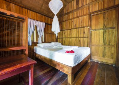 Bamboo Huts Guest Room